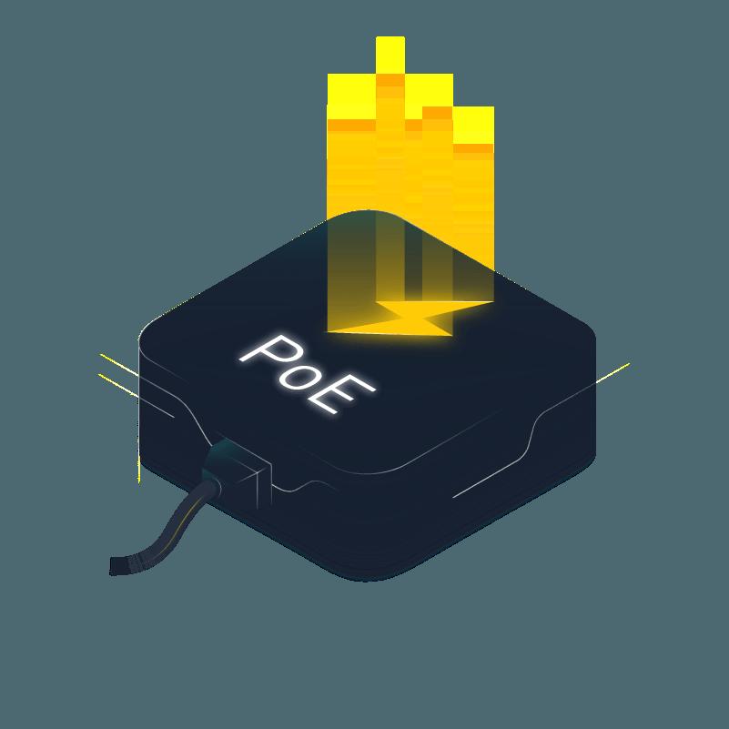 Aglaia Power Ethernet