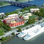Aerial image for 2017 Beach Volleyball World Championship in Vienna