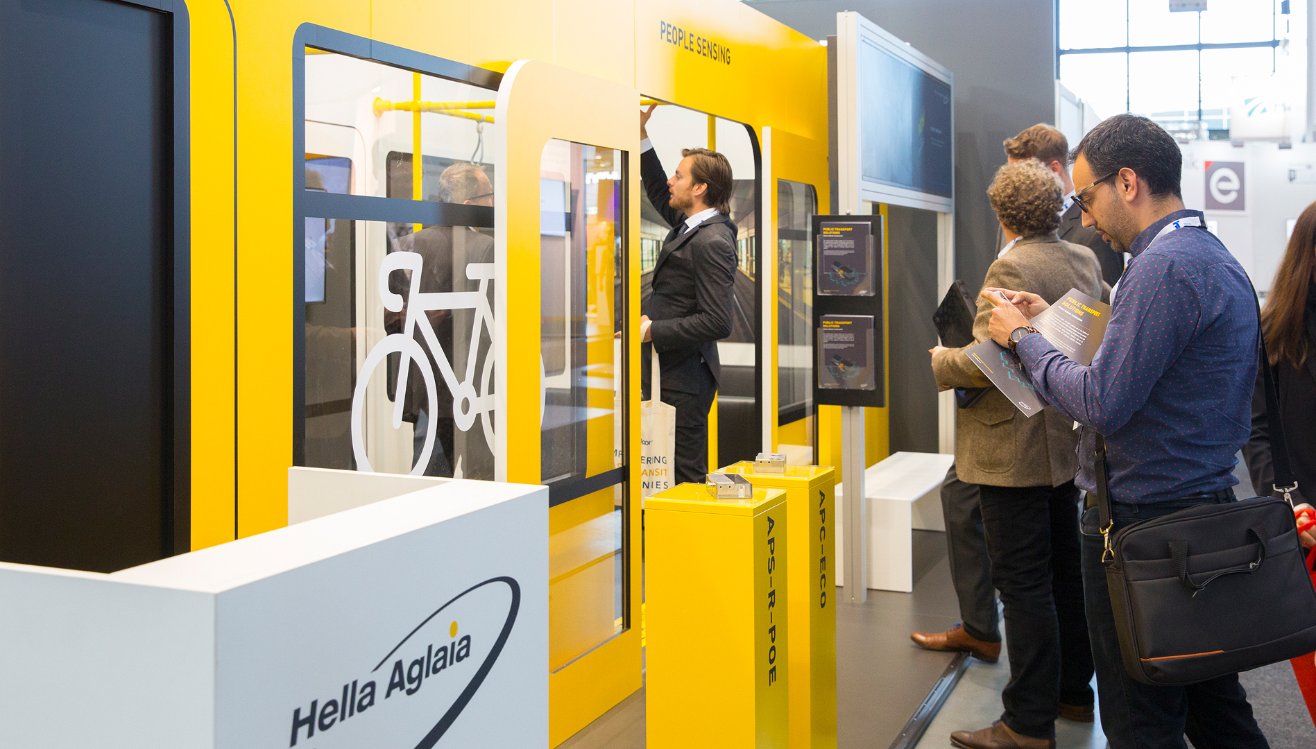 Successful first quarter for People Sensing at three trade fairs.
