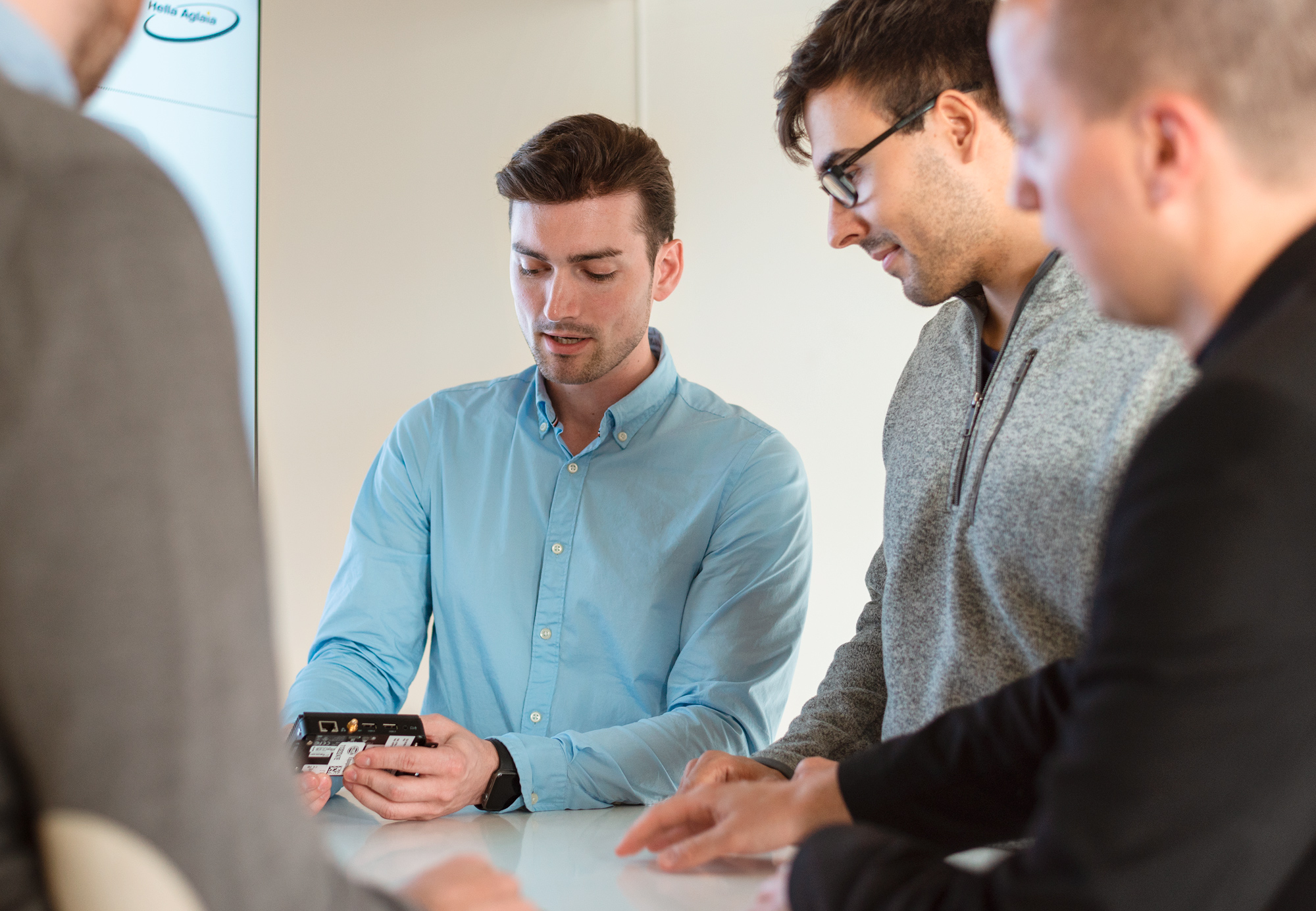Berlin technology firm HELLA Aglaia has acquired the start-up company Pyramics.